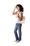 Elegantes brasilianisches Mädchen Lizenzfreies Stockfoto