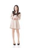 Elegantes chinesisches Mädchen Lizenzfreies Stockfoto