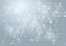 Elegantes Design der Vektortechnologie Stockfoto
