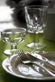Elegantes Dinning Lizenzfreie Stockfotos