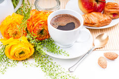 Elegantes frisches Frühstück Stockfoto