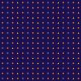 Elegantes geometrisches nahtloses Muster machte herein lizenzfreie abbildung