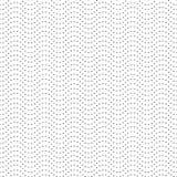 Elegantes gewelltes Profil Schwarzweiss-Druck für Gewebe Die Querstation Stockbilder