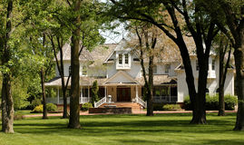 Elegantes Haus Lizenzfreies Stockbild