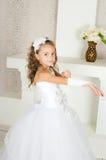 Elegantes Mädchen Stockfoto