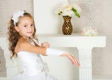 Elegantes Mädchen Stockfotografie