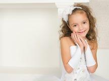 Elegantes Mädchen Lizenzfreies Stockfoto