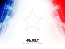 Elegantes Thema-Hintergrunddesign der amerikanischen Flagge. Stockfoto