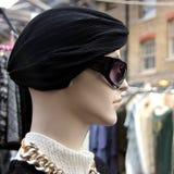Elegantes Weinlese-Kleidungs-Mannequin Stockbilder