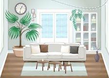 Elegantes Wohnzimmer Lizenzfreies Stockbild