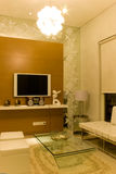 Elegantes Wohnzimmer Stockfoto