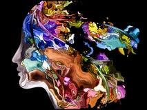 Elegantie van Zelffragmentatie vector illustratie
