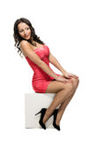 Elegantly Beautiful Caucasian Woman Royalty Free Stock Photography