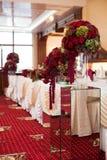 Elegantly stylishly luxuriantly decorated with beautifully flowe Stock Photo