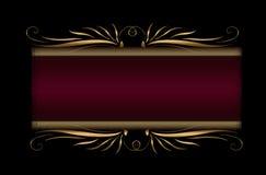elegantt baner royaltyfri illustrationer