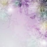 elegantt blom- för bakgrund Vektor Illustrationer