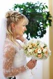 elegantt bröllop för bruddag royaltyfri fotografi