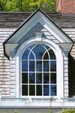 elegantt fönster för dormer royaltyfri fotografi