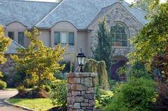 elegantt hus Arkivfoto