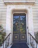 elegantt hus för dörr arkivfoto