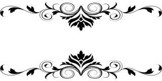 elegantt kort Royaltyfria Bilder