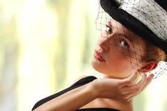 elegantt kvinnabarn royaltyfri fotografi