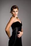 elegantt kvinnabarn royaltyfri bild
