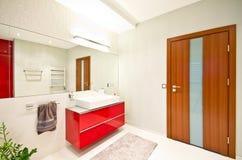 elegantt modernt för badrum royaltyfri fotografi