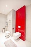 elegantt modernt för badrum fotografering för bildbyråer
