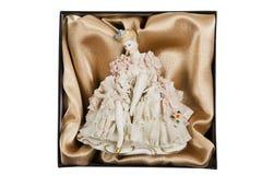 elegantt porslin för docka royaltyfria foton