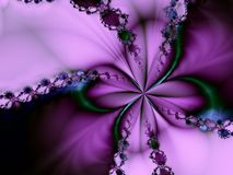 elegantt romantiskt silkeslent Royaltyfria Foton