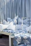 elegantt sovrum fotografering för bildbyråer