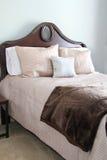 elegantt sovrum arkivbilder