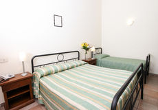elegantt sovrum Arkivfoto