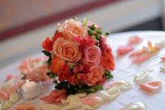 elegantt steg tablesetting Royaltyfri Fotografi