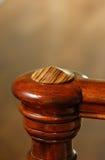elegantt trä för bannister Royaltyfria Bilder
