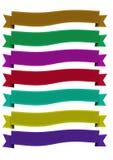 Eleganz-Band-Fahne Lizenzfreie Stockbilder