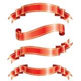 Eleganz-Farbband-Fahne Lizenzfreie Stockfotografie