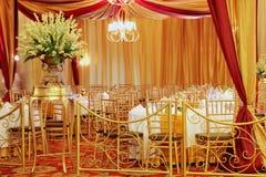 Eleganz-Hochzeits-Dekoration Lizenzfreies Stockbild