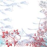 Eleganz romantisches Innersymbol auf einem warmen Hintergrund Lizenzfreie Stockfotos