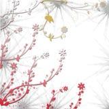Eleganz romantisches Innersymbol auf einem warmen Hintergrund Stockbilder