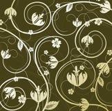 Eleganzauslegung mit Blumen Lizenzfreie Stockfotos