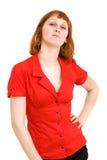 Eleganzfrau stockfoto
