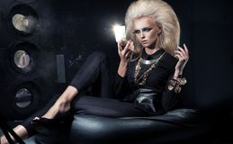 Eleganzfrau Lizenzfreies Stockbild