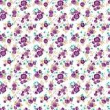 Eleganznahtloses Blumenmuster Lizenzfreies Stockfoto
