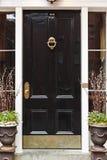 Elegeant front door royalty free stock photography