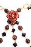 Elegent necklace closeup Stock Image