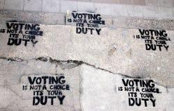 Eleição canadense Foto de Stock Royalty Free