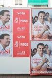 Eleição 2016 da Espanha Imagem de Stock
