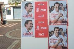 Eleição 2016 da Espanha Fotografia de Stock Royalty Free